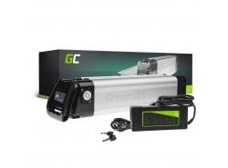 Green Cell ® Akku für Elektrofahrräder e-Bike 24V 10.4Ah 250Wh