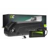 Nabíjateľná batéria so Green Cell kyvetou so spodnou trubicou 48V 14,5 Ah 696 Wh pre elektrické bicykle E-Bike Pedelec