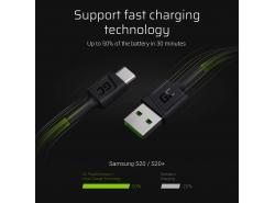 Kábel Quick Charge 3.0, Samsung AFC, Huawei FCP, Apple 2.4A, Mediatek Pump Express 1.1/2.0, USB DCP