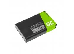 Batérie Green Cell ® 361-00053-00 pre Garmin Alpha 100 handheld Montana 600 600T 650 Camo 650 650T Monterra, Li-Ion 2200mAh 3.7V
