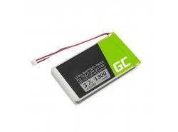 Batérie Green Cell ® AHL03714000 VF8 1697461 pre TomTom GO 530 630 630T 720 730 730T 930 930T SatNav, Li-Polymer 1300mAh 3.7V