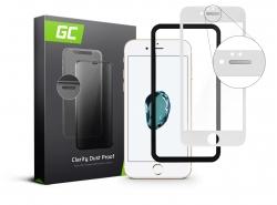 Ochranné sklo GC Clarity pre Apple iPhone 7 8 - biele
