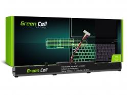 Green Cell Laptop Battery A41N1501 pre Asus ROG GL752 GL752V GL752VW, Asus VivoBook Pro N552 N552V N552VW