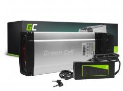 Batéria Batéria Green Cell Zadný nosič 36V 11,6 Ah 418 Wh pre elektrický bicykel E-Bike Pedelec
