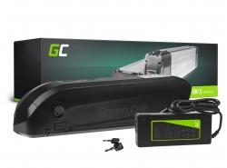 Bateriová batéria Green Cell trubica Down Tube 36V 11,6Ah 418 Wh pre elektrický bicykel E-Bike Pedelec