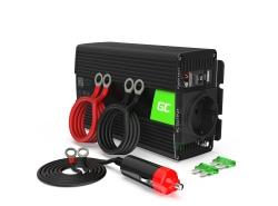 Menič napätia Green Cell Cell® 500W / 1000W, napájací menič 12 V až 230 V USB