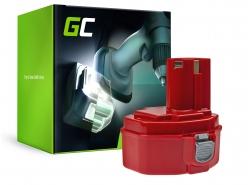 Batéria Green Cell ® pre Makita 1420 1433 1434 4033D 4332D 6228D 6337D 14,4V 3Ah