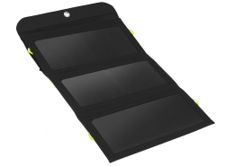 Nabíjačka, solárny panel 21 W Green Cell GC SolarCharge s funkciou napájania banky 6400 mAh