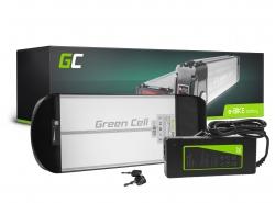 Batéria Batéria Green Cell Zadný nosič 36V 10Ah 360 Wh pre elektrický bicykel E-Bike Pedelec