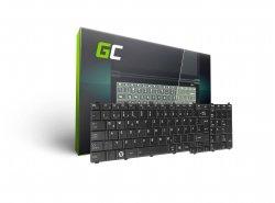 Klávesnica Green Cell ® pre notebook Toshiba Satellite C650 C655 C660 L650 L670 L750