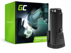 Nabíjateľná batéria Green Cell® (2Ah 3.6 V) 2607336241 BAT504 pre Bosch GSR GBA 3.6 PRODRIVE Mx2Drive