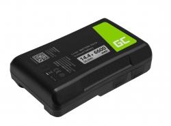 Batéria Green Cell V-Mount pre Sony BP-95W 6600mAh 95Wh 14,4V