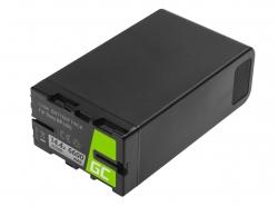 Batéria Green Cell BP-U90 BP-U60 BP-U30 pre Sony 6600mAh 95Wh 14,4V