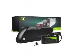 Nabíjateľná batéria so Green Cell trubica 36V 13 Ah, 468 Wh pre elektrický bicykel E-Bike Pedelec