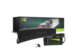 Nabíjateľná batéria so Green Cell rámom, batéria 36 V 7,8 Ah 281 Wh pre elektrický bicykel E-Bike Pedelec