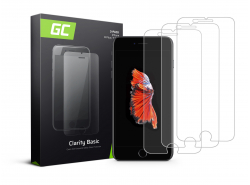 3x Ochranné sklo GC Clarity pre Apple iPhone 6 Plus / 6S Plus / 7 Plus / 8 Plus GC Clarity z tvrdeného skla chráni