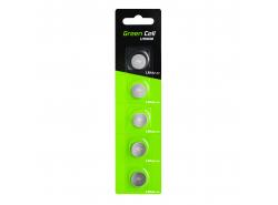 Blister 5x Green Cell batéria LR44 1,5V lítiové tlačidlo