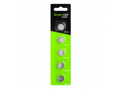 Green Cell Blister 5x batéria LR44 1,5V lítiové tlačidlo