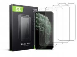4x Ochranné sklo GC Clarity pre Apple iPhone X / XS / 11 Pro GC Clarity z tvrdeného skla chráni