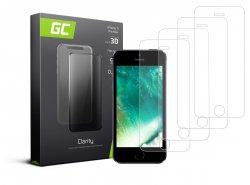 4x Ochranné sklo GC Clarity pre Apple iPhone 5 / 5S / 5C / SE GC Clarity z tvrdeného skla chráni