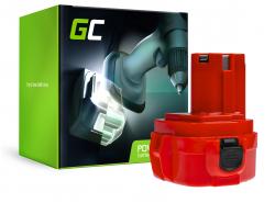 Green Cell ® nástroj batérie pre Makita 1220 1222 1050D 4191D 6271D 6835D 8413D