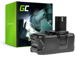 Green Cell ® Akkuwerkzeug RB18L50 od spoločnosti Ryobi ONE + P1100 P200 P300 P400 P500 P600 P700 18V 5000mAh