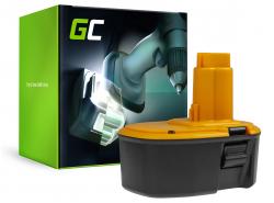 Green Cell Batéria (3Ah 14.4V) DC9091 DC9094 DE9038 DW9091 DW9094 pre DeWalt DC528 DC728KA DC731KA DC985KA DW966K DW985 DW996K