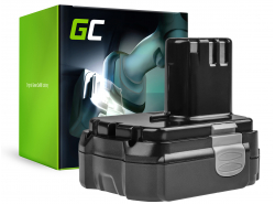 Akumulátorové náradie Green Cell ® pre Hitachi CJ14DL 14,4 V 1,5 Ah