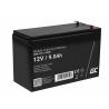Green Cell® AGM 12V 9Ah akumulátorová bezúdržbový akumulátor systémy zdroje nepretržitého napájania UPS
