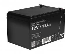 Green Cell ® Gel Batterie AGM 12V 12Ah