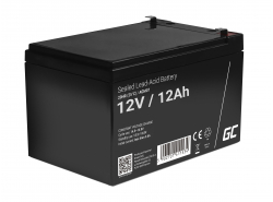 Green Cell ® Gel Batterie AGM 12V 12Ah