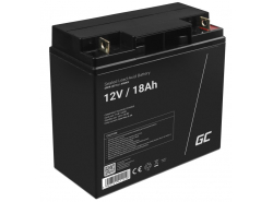 Green Cell ® Gel Batterie AGM 12V 18Ah