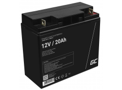 Green Cell ® Gel Batterie AGM 12V 20Ah