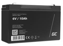 Green Cell ® Gel Batterie AGM VRLA 6V 10Ah