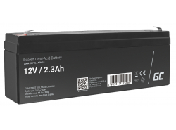 Green Cell ® Gel Batterie AGM VRLA 12V 2.3Ah