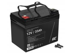 Green Cell Cell® Batterie AGM VRLA 12V 33Ah