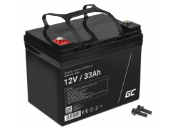 Green Cell Cell® Batterie AGM VRLA 12V 33Ah