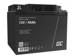 Green Cell ® Gel Batterie AGM VRLA 12V 40Ah