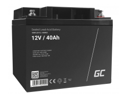 Green Cell ® Gel Batterie AGM VRLA 12V 40Ah