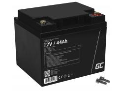 Green Cell ® Gel Batterie AGM VRLA 12V 44Ah
