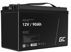 Green Cell ® Batterie AGM VRLA 12V 90Ah