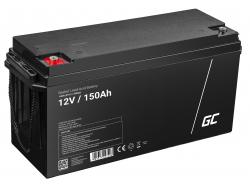 Green Cell Cell® Batterie AGM VRLA 12V 150 Ah