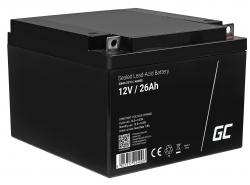 Green Cell Cell® Batterie AGM VRLA 12V 120 Ah
