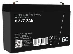 Green Cell Cell® Batterie AGM 6V 7.2Ah