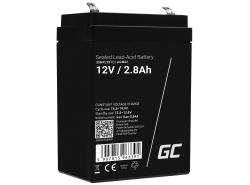 Green Cell Cell® Batterie AGM VRLA 12V 2.8 Ah