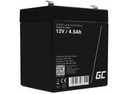 Green Cell Cell® Batterie AGM VRLA 12V 4,5 Ah