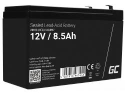Green Cell Cell® Batterie AGM VRLA 12V 8.5AH