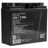 Green Cell Cell® Batterie AGM 12V 18Ah
