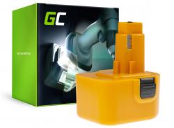 Green Cell Cell® Akkuwerkzeug pre DeWalt DE9037 DE9071 DE9074 12V 2Ah