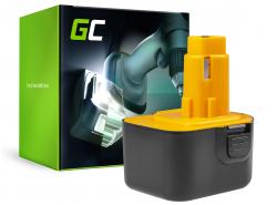 Green Cell ® nástroj pre batérie DeWalt DE9037 PS130 a Black&Decker 12V 3000mAh
